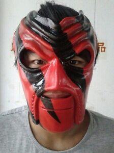debut kane mask full face wrestling halloween replica