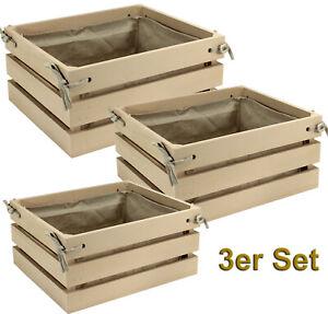 3x-HOLZKISTE-Deko-Aufbewahrungsbox-Stapelbox-Wand-Regal-Weinkiste-2008-0582