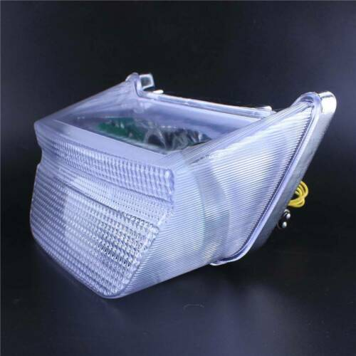 LED Turn Signals Integrated Tail Light For Kawasaki ZRX1100//1200 1999-2004 Clear