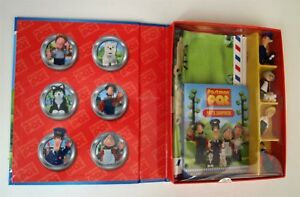Postman-Pat-Read-Play-Book-6-small-figurines-playmat-Children-s-Kids-Gift-New