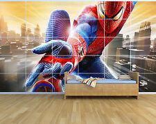 Nuevo Spiderman Movie spd07_30 - Niños-De Pared Gigante poster/picture/art