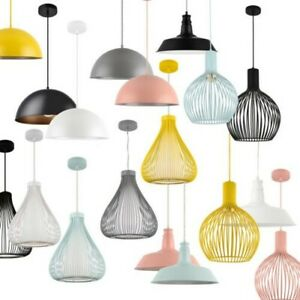 Lux. pro colgante metal plafón lámpara pendelleuchte industria Look
