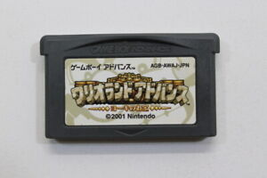 Wario Land Advance Nintendo Gameboy Advance GBA Japan Import US Seller MA586