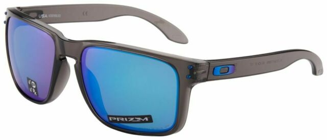 b62995978c6e Oakley Holbrook XL Sunglasses Oo9417 09 Dark Grey Blue Polarized Prizm Lens  59mm