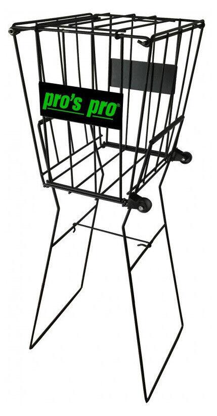 Pro's Pro Premium Tennis Ball Basket 72 Capacity with Wheels