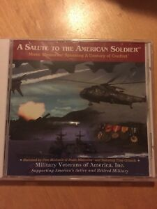 A-SALUTE-TO-THE-AMERICAN-SOLDIER-CD-Military-Veterans-Of-America-Inc-RARE