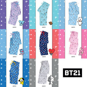 BT21-Official-Authentic-Goods-Pajamas-Pants-BTS-CHIMMY-COOKY-KOYA-Etc