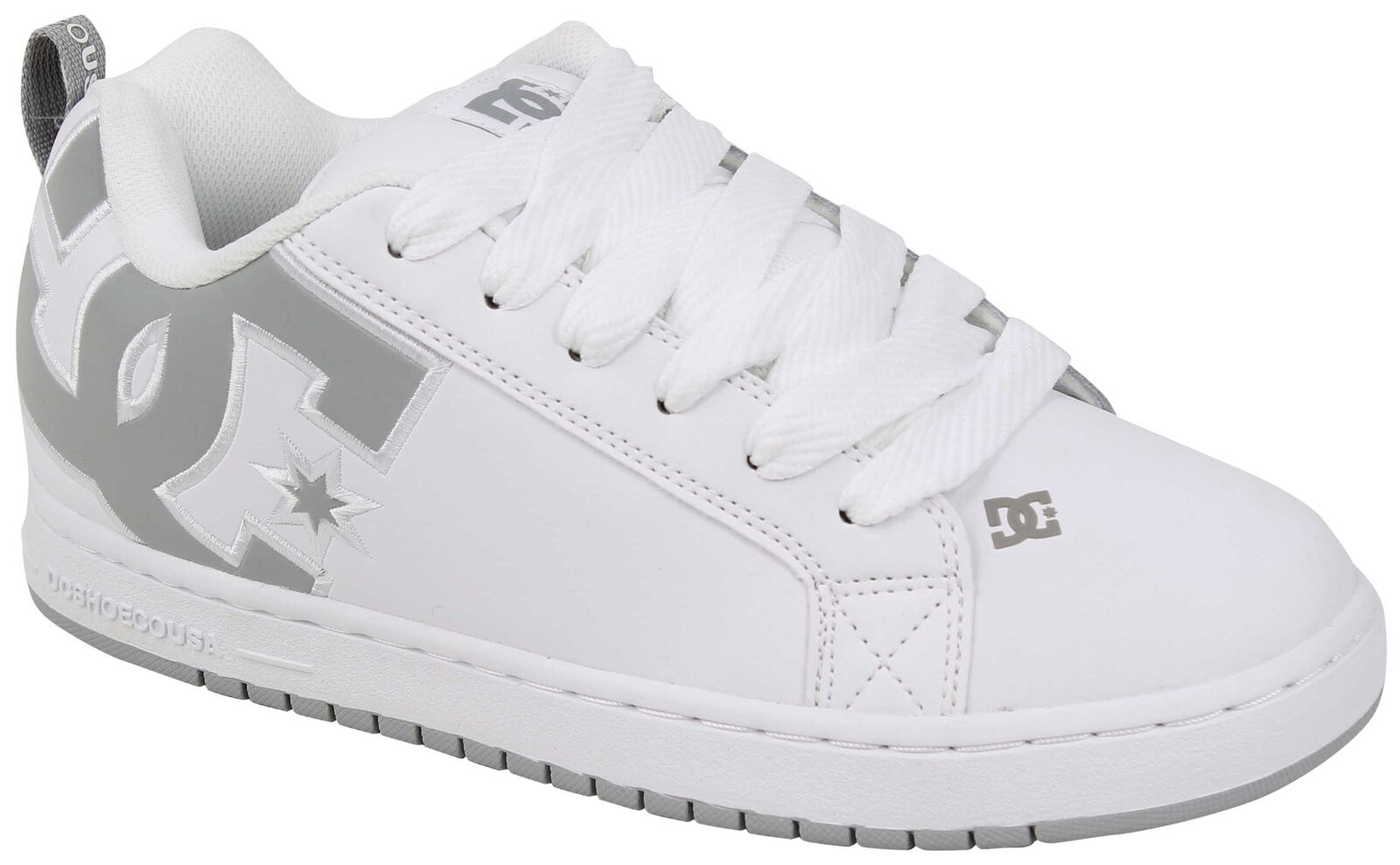 DC Court Graffik SE Shoe - White / Grey / Grey - New