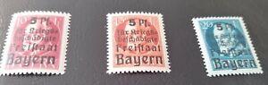 Bayern-Hilfe-fuer-Kriegsbeschaedigte-171A-173-A-postfrisch