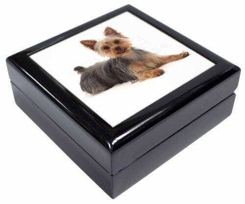 AD-Y4JB Yorkshire Terrier Dog Keepsake//Jewellery Box Christmas Gift