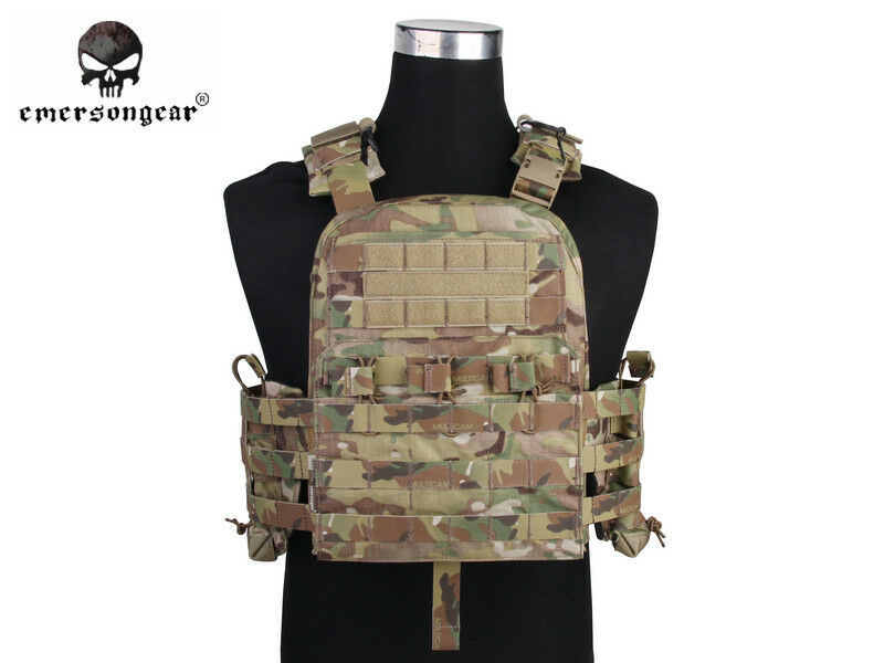 EMERSON  Tactical Vest NCPC CP Style Army CORDURA Vest Cherry Plate Carrier NCPC  timeless classic
