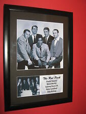 THE RAT PACK FRANK SINATRA DEAN MARTIN SAMMY DAVIS A4 PHOTO MOUNT  NOT SIGNED