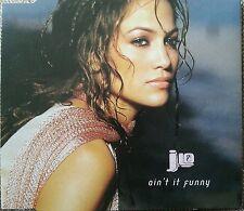 J Lo - Ain't It Funny (CD 2001) Enhanced CD with video Jennifer Lopez