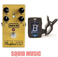 MXR Custom Badass Modified  O.D. M77 ( GUITAR TUNER ) Overdrive Distortion M-77