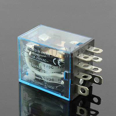 1PCS DC 24V Coil OMROM LY2NJ Small Relays 10A 8PIN DPDT for circuitry