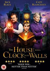 The-House-With-A-Clock-In-Its-Walls-Jack-Black-DVD-Region-2