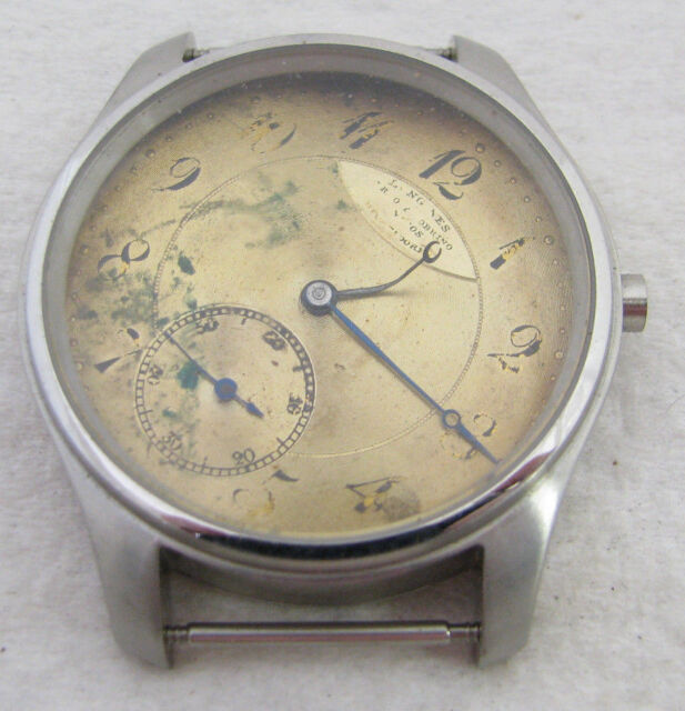 VINTAGE MENS LONGINES OVER SIZED WRISTWATCH WATCH PARTS