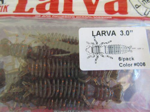 Baits, Lures & Flies Fanatik LARVA 1 6,2,2 5,3,3 5 all sizes