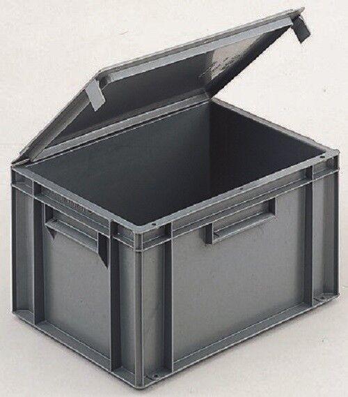 Schoeller R21C33.P5 Allibert Grey Plastic Storage Box