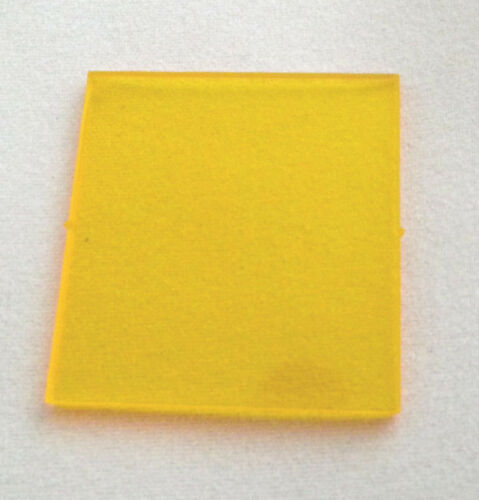Custom TRANS YELLOW lego window glass 4x4x3 roof space 6985 6926 6951 6972 6940