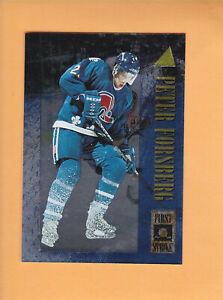 1995-96-PINNACLE-FIRST-STRIKE-11-PETER-FORSBERG-QUEBEC-NORDIQUES-FREE-SHIP