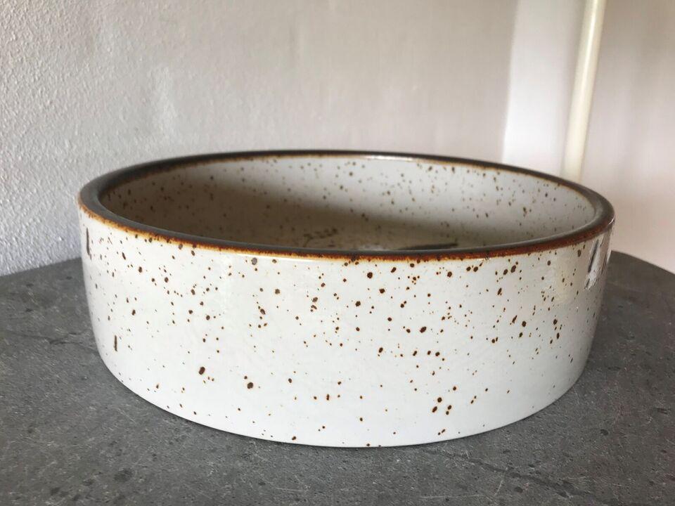 Keramik, Stort Søholt fad (3628 / 4 LE)