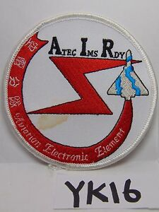 EMBROIDERED PATCH ATEC IMS RDY AVIATION ELECTRONIC ELEMENT JAPAN AIR FORCE