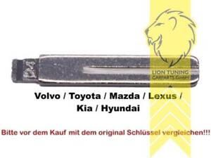 Schluesselrohlinge-fuer-Klappschluessel-Zentralverriegelung-Kia-Hyundai-Volvo-Toyot