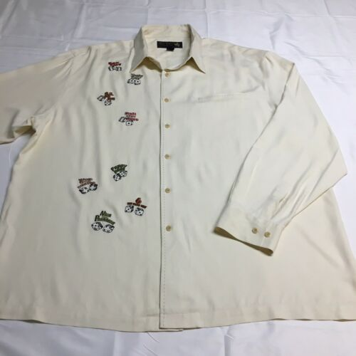 Nat Nast Silk Limited Edition Dice Embroidered Lon