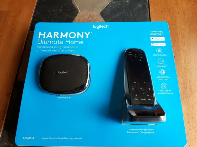 Logitech Remote Harmony Ultimate Home Touch Screen Remote - Black 915-000264 New