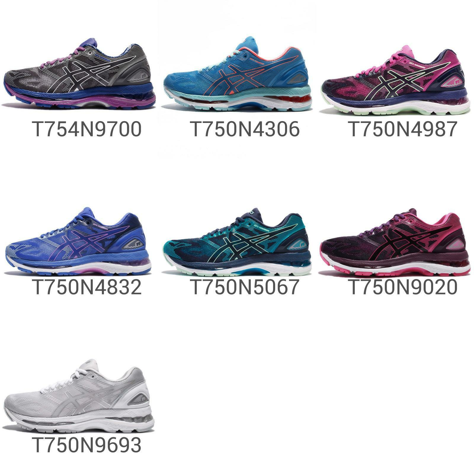 Asics Gel-Nimbus 19 FlyteFoam Gel Womens Cushion Running Shoes Runner Pick 1