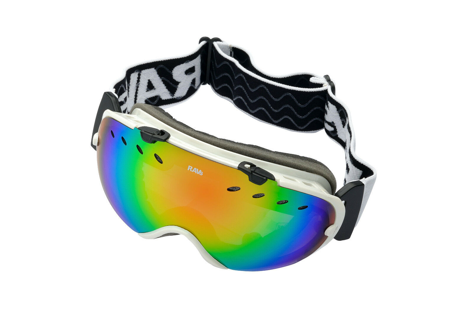 Ravs Unisex Ski Goggles - Snowboard Goggles for Alpine Sports Frameless
