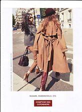 COMPTOIR DES COTONNIERS Publicité de Magazine( page de mag) advertisement