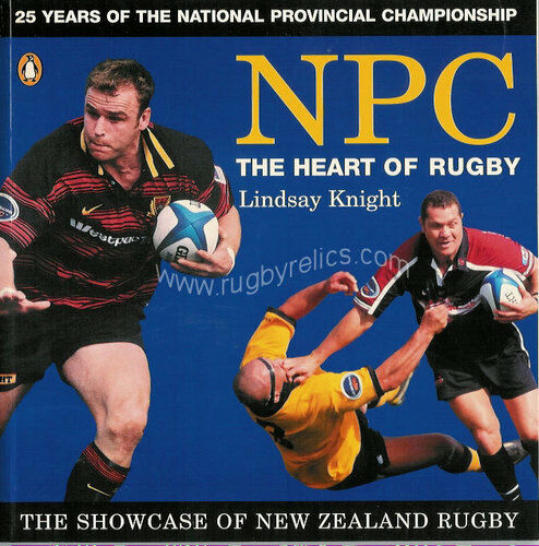 NPC NATIONAL PROVINCIAL CHAMPIONSHIP, NZ RUGBY BOOK