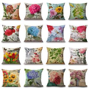 18-034-Classic-Fashion-Flower-Sofa-Car-Cushion-Cover-Decorative-Throw-Pillow-Case
