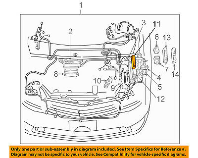 Toyota 82620-47050 Fusible Link Block Assembly