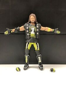 WWE-Mattel-AJ-Styles-Elite-Series-74-Figure-loose