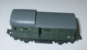 Arnold-4490-Wagon-de-Marchandises-Pwg-2-achs-Vert-gt-Top