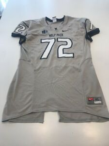 premium selection b98e7 2fec9 Game Worn Used Nevada Wolfpack Football Jersey Nike Size XL ...