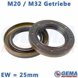 M32-M20-C544-Getriebe-FGP-Simmerring-Eingangswelle-25mm-Opel-Astra-Corsa-Zafira