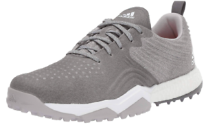 quality design 30040 92797 Image is loading Nike-Adipower-4orged-S-Golf-Shoes-Grey-034-