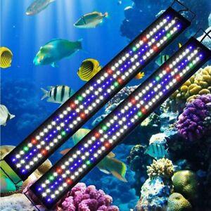 Aquarium LED Lighting Marine Fish Tank RGB Lights Plants ...