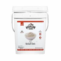 Augason Farms Quick Rolled Oats Emergency Food, 10 lb - NO TAX