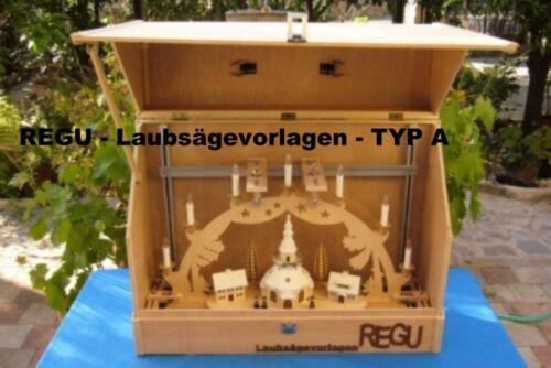 Brilliant solution for those who schwibbögen DIY build a Melanin-Leaf Saw Templates