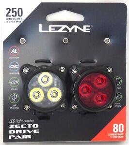 LED Light Combo Lezyne Zecto Drive
