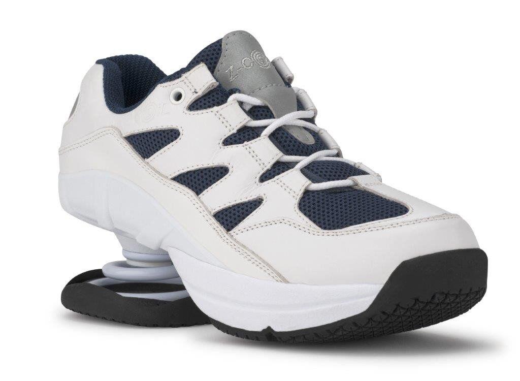 risparmia fino al 50% Z-Coil FREEDOM FREEDOM FREEDOM CLASSIC NAVY bianca Coil Uomo FW-02005-M Comfort Wide scarpe Zcoil  grande vendita