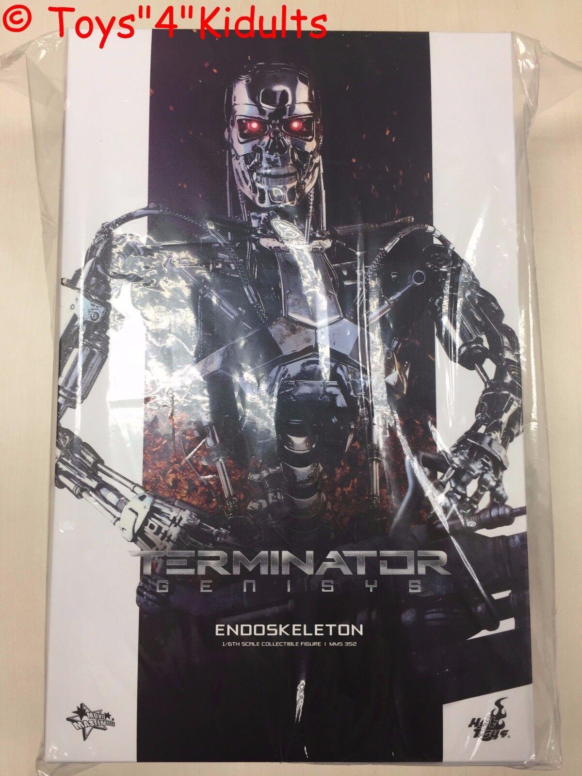 heta leksaker MMS 352 Terminator Genisys Endoskeleton 12 tum Action Figur NY