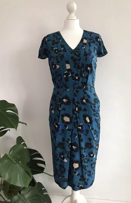Fenn Wright Manson  Silk Dress Size 8
