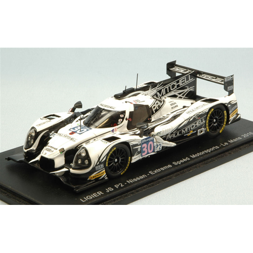 LIGIER JS P2 N.30 16th Le Mans 2016 S.SHARP-E.Marrone-J.VAN OVERBEEK 1:43 Spark Mo