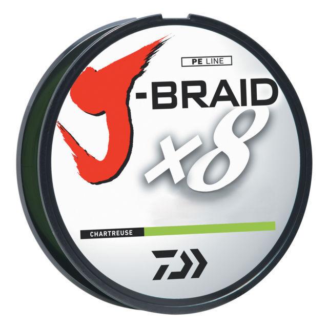 1 SPOOL DAIWA  J-BRAID BRAIDED LINE 8 STRAND 100TEST 300 METERS DARK GREEN